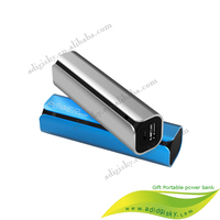 Mini tube mobile charger Power Bank2600mah smart charger for smart phone