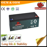 autos a bateria 12V 25Ah lead acid battery electric scooter battery