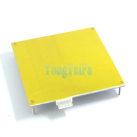 3D printer PCB heating bed 120 * 120mm reprap Standard accessories aluminum plate hot bed with