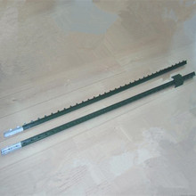Price low American type studded T fence post with Anchor and pvc post and rail fence