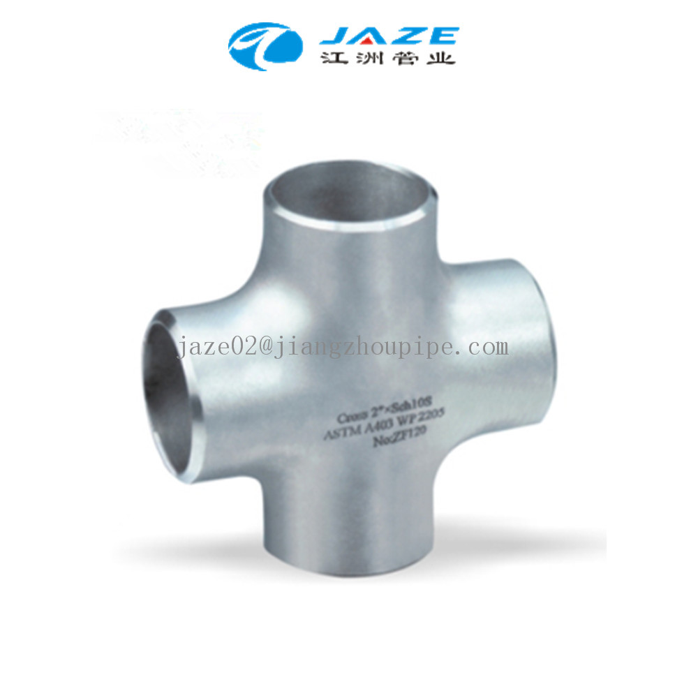 SS304 cross joint pipe fittings
