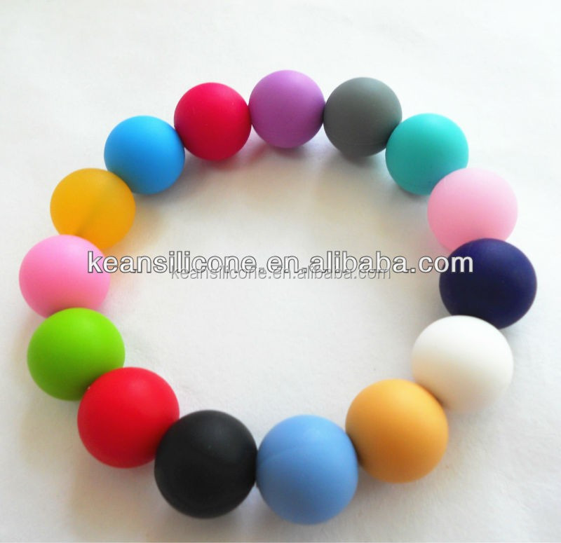 Indian glass beads soft silicone / plastic red coral beads for sale