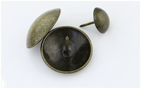 Classical bronze decoration nail/button for sofa