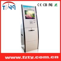 Public Photo printing kiosk with IR touch screen