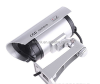 Surveillance Security Dummy Camera Fake Simulation Waterproof LED Flashing Outdoor Bullet CCTV