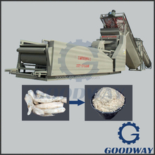 Food grade cassava processing equipments for starch making