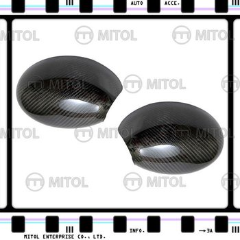 For Mini Cooper 01-06 Carbon Fiber Car Mirror Cover Side Mirror Cover