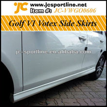 Car BodyKits Rear Side Skirt For VW Golf6 Votex