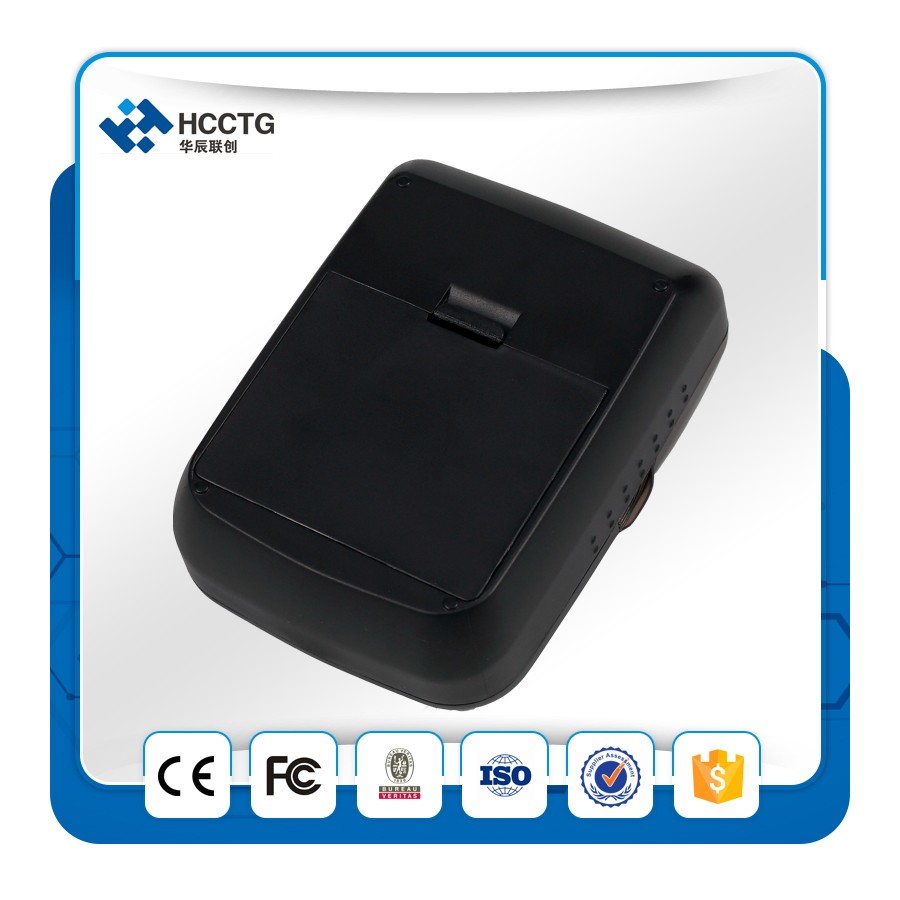 China Supplier Android Handheld Mini 58mm Portable Bluetooth Mobile Barcode Thermal Pocket Pos Receipt Ticket Printer HCC-T12