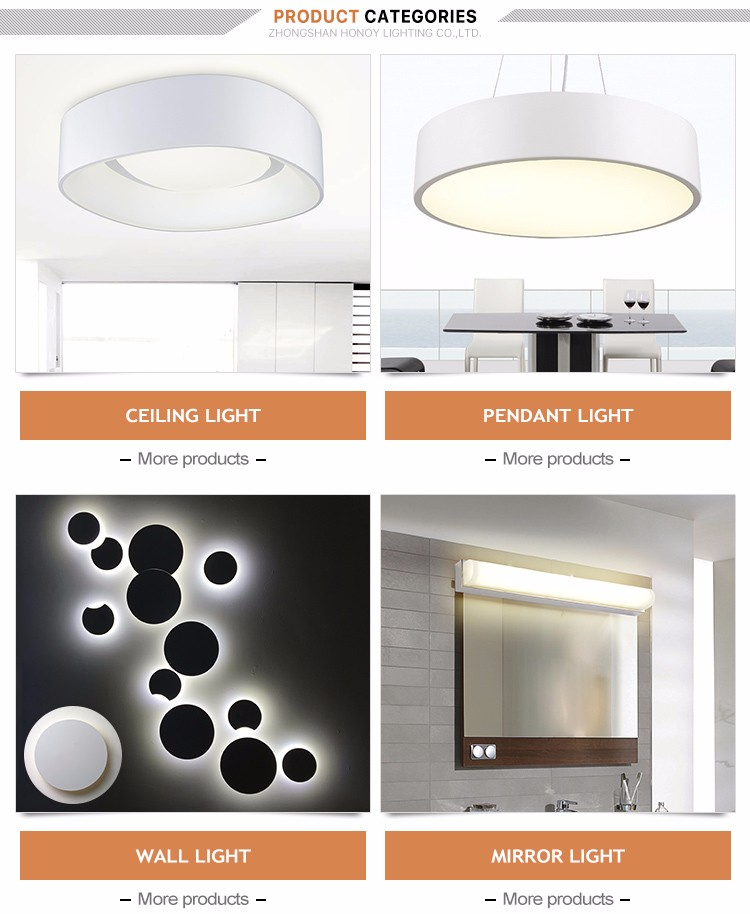 Zhongshan Hot Sale CE/TUV/ROHS Approval Unique Design Acrylic Modern Lighting Indoor Led Ceiling Light