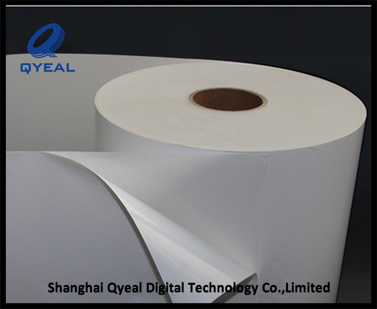 glossy waterproof pp synthetic paper for memjet printer in roll/sheet