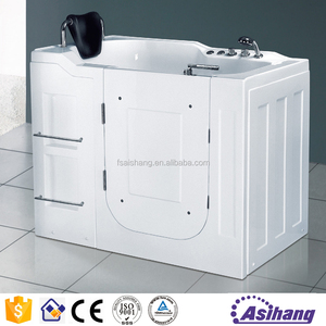 quality safe acrylic bathtub for old people and disabled people
