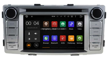 "OEM high quality dvd player gps navigation for 6.2"" TOYOTA HILUX 2012 with gps SWC BT Phonebook adroid system navigation"