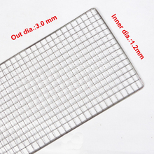 BBQ Stainless Steel Cooking Grill Grid bbq wire mesh
