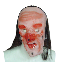 hot sale old man latex halloween masks horror mask