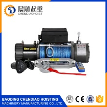 17000 pounds wire rope electric winch 12V and 24V wrecker and garbage truck winch
