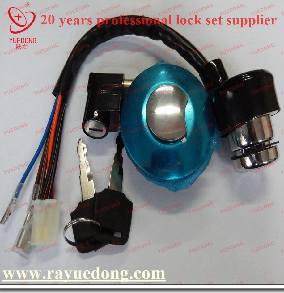 Direct Factory AX100 for suzuki motorcycle lock set with high quality