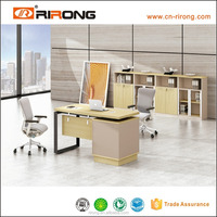 1.6m Modern MDF/ panel office staff computer table/desk