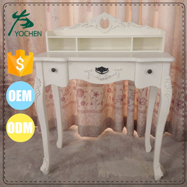 Good Quality Wooden Makeup Dressing Table with Drawer from suppliers china