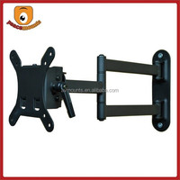 Fits 10-24 inches screen of creative design Universal Small VESA 75 & 100 compatible flexible arm movable tv bracket