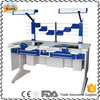Double Person Used Dental Laboratory Workstation / dental table