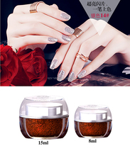 2017 new hot sale UV glitter Gel Type cheap factory price and good quality gel nail polish