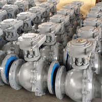 Manufacture PTFE Casting Steel Floating Ball Valve