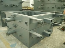 Vacuum process molding line used Flask, sand box