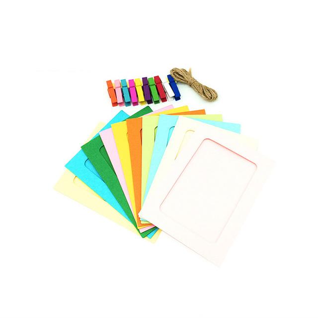 OEM design colorful 4x6 paper photo frame picture frames