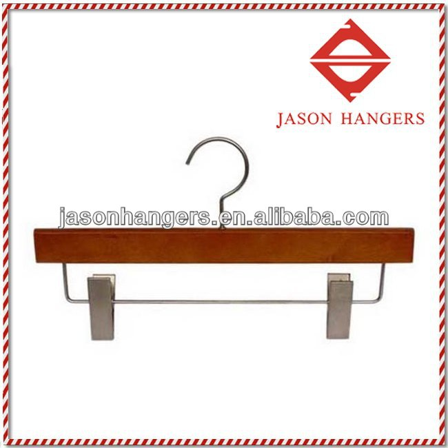 TS1013 cherry wooden pants hanger