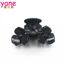New Fashion Plastic Flower Style Korean Hair Claw Clip