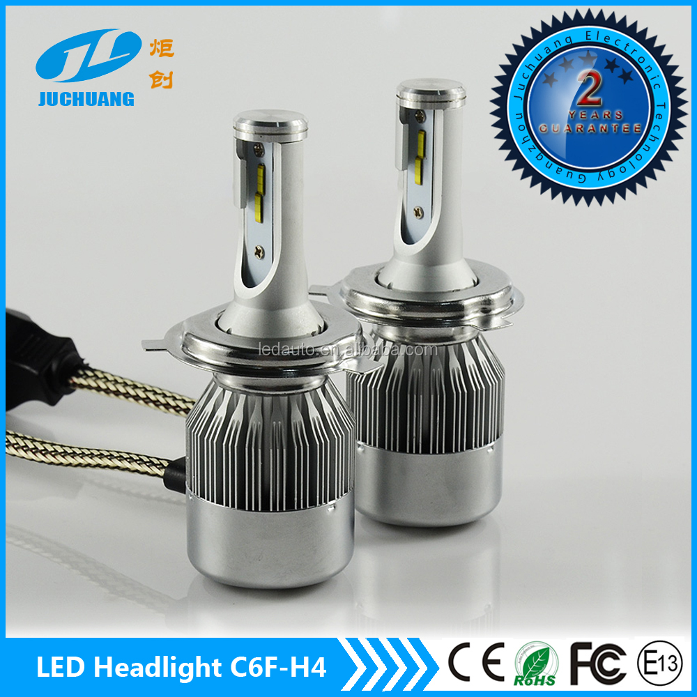 New arrival!!! 6000K Car H4 H13 9004 9007 C6F led headlight bulbs auto headlamp LED