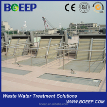 Bar screen in SS304/316 for compact design slaughter breeding waste water projects