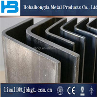 discharging port of galvanized steel angle construction structure