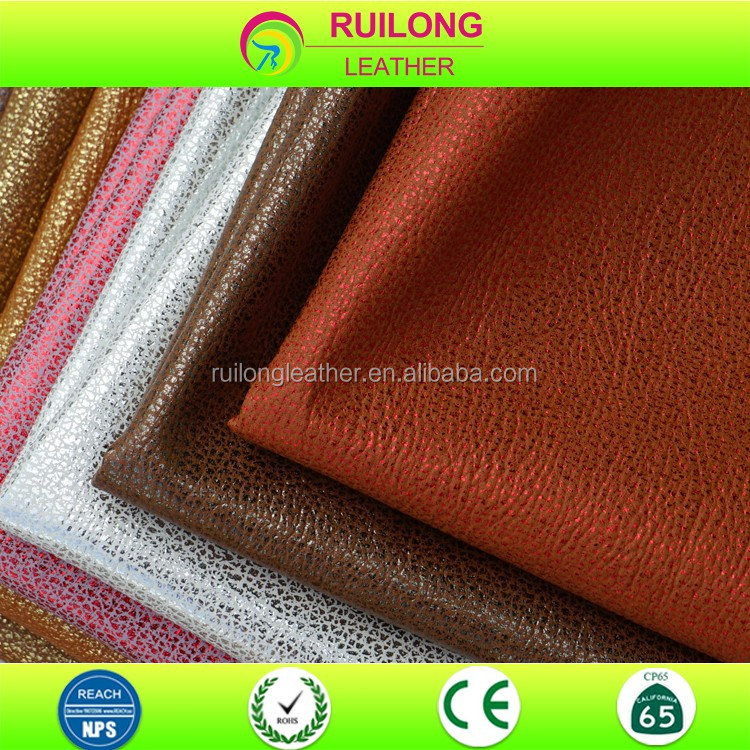 synthetic material wallet leather for golf bag and custom label