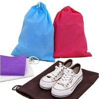 Promotional cheap Drawstring SHOE BAG wholesale