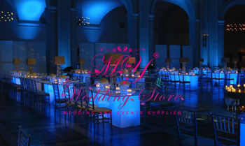 acrylic LED wedding table for events wedding furnitures