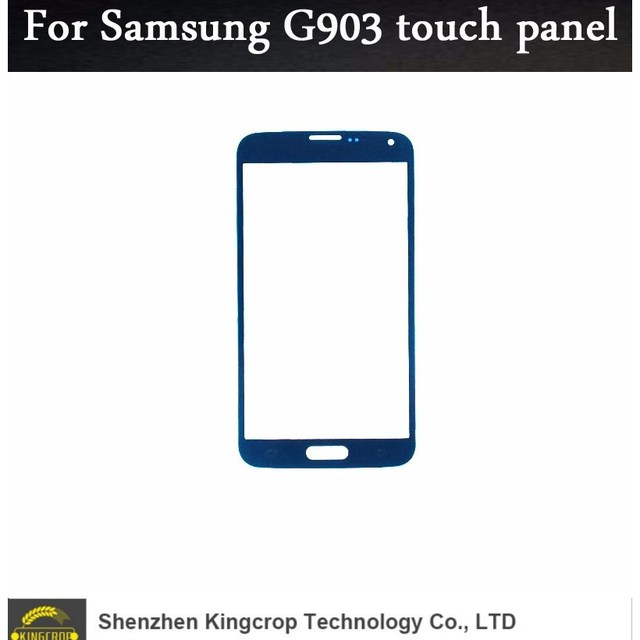 100% tested good quality For Samsung Galaxy S5 Neo G903F G903 touch panel glass replacement parts Front Touch Screen Glass Outer