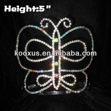 5 inch Colorful Butterfly Pageant Crowns Pageant Crowns tiara