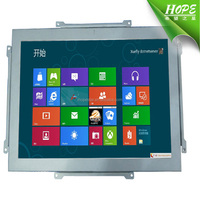 "Open Frame VGA 13 inch LCD monitor;Metal case Frameless 13"" lcd Display"