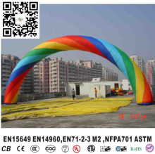 Inflatable trade show event promotion arch, Cheap Colourful advertising Inflatable Arch