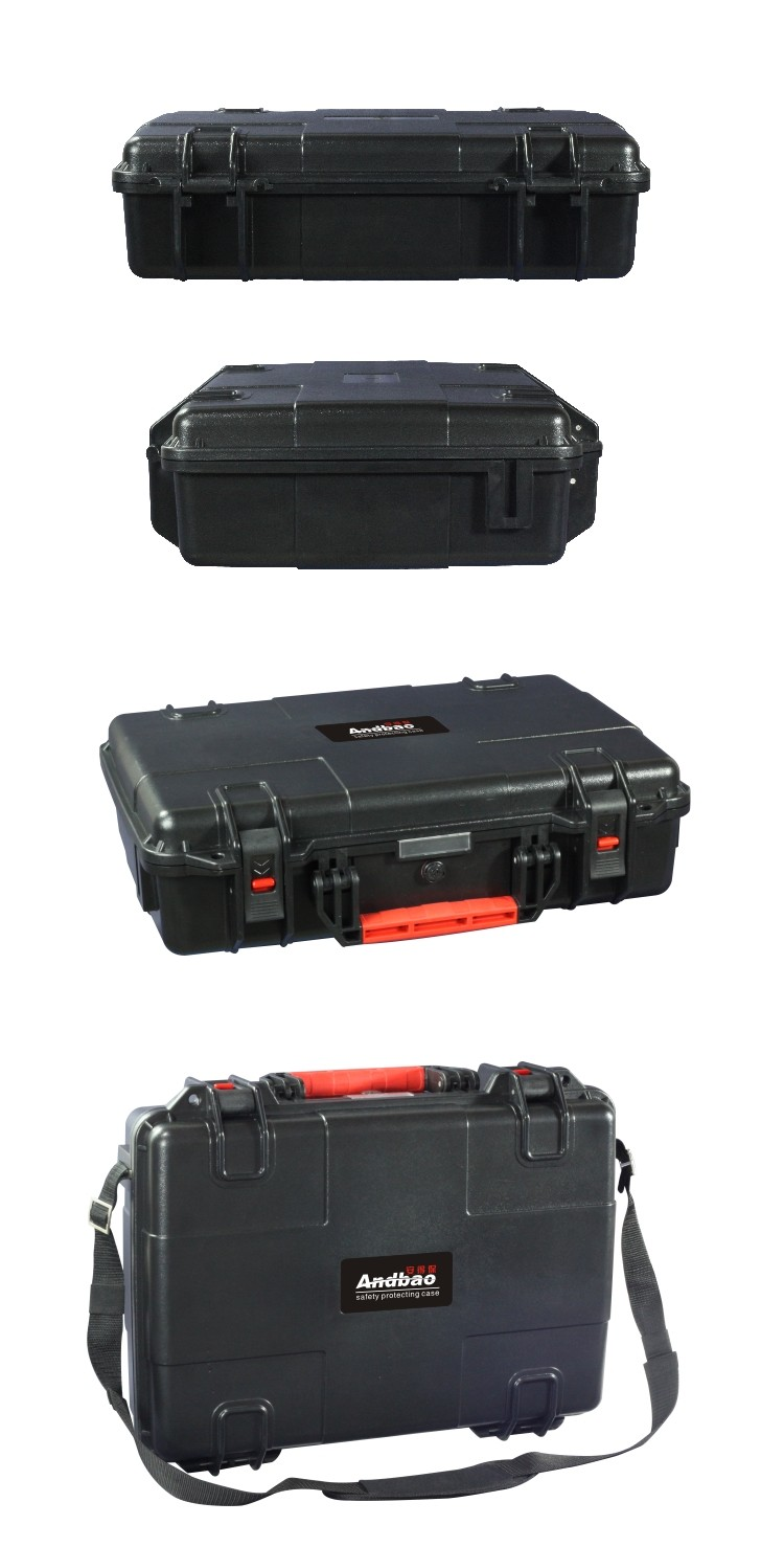 ROHS ABS plastic tool case with foam