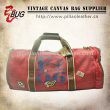 2013 Fashionable Canvas Travel Bag/Durable Sport Hand bag