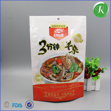 Custom printed white pepper powder, spices powder, crispy Fried chicken packaging bag