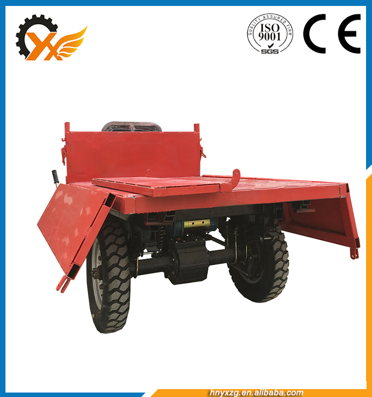 Low price popular hydraulic mini dumper electric tricycle 500w