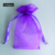 wholesale New design plum wedding organza bag , can be mix color order