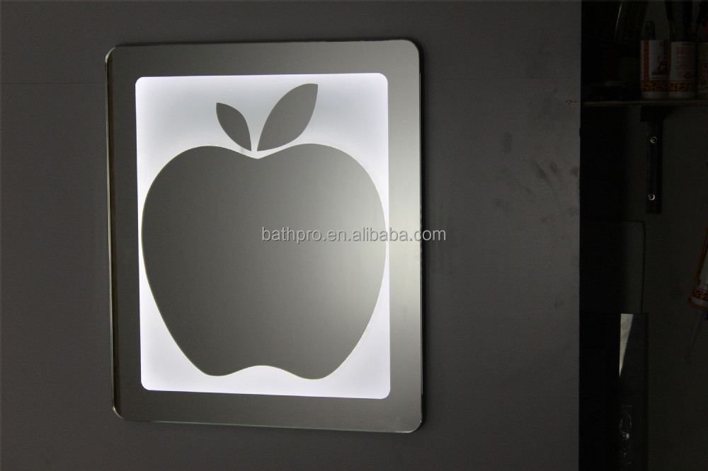 foshan cheap price bathroom mirror with LED light
