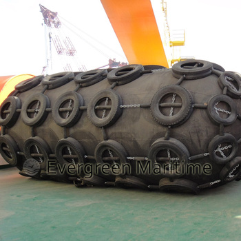 Floating Yokohama Pneumatic fender and rubber fender