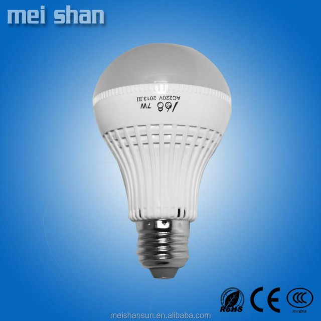 3W Plastic LED Bulb With E27 Lamp Holder