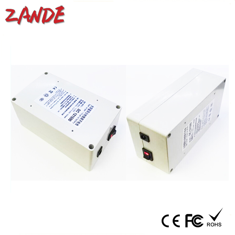 Portable DC 12V 15000mAh Rechargeable Li-ion Battery for CCTV Camera Wireless Camera/Baby Monitor, Digital Camera